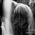Grampians Waterfall Bw by Tim Richards