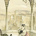 Granada , Plate 9 From Sketches by John Frederick Lewis