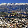 Granada And The Alhambra by Guido Montanes Castillo