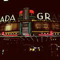 Night Lights Granada Theater by David Hohmann