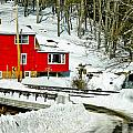 Granby Falls by Bette Bresette