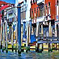 Grand Canal - Venice by Allen Beatty
