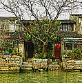 Grand Canal China by Cathy Anderson