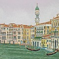 Grand Canal  by David Hinchen