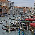 Grand Canal From Rialto Bridge by Tony Murtagh