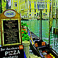 Grand Canal Scene by Michael Moore