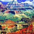 Grand Canyon After Monsoon Rains by Bob and Nadine Johnston