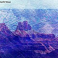 Grand Canyon As A Painting 2 by Karl Rose