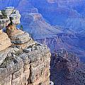 Grand Canyon At Dawn by Noa Mohlabane