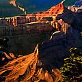 Grand Canyon At Sunset by Bob and Nadine Johnston