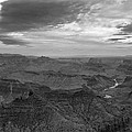 Grand Canyon Black And White by Dan Sproul