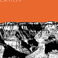 Grand Canyon - Coral by DB Artist