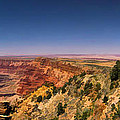 Grand Canyon Desert View Watchtower Panorama by Christopher Arndt