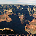 Grand Canyon by Ernie Echols
