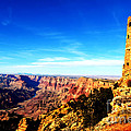Grand Canyon National Park Mary Colter Designed Desert View Watchtower Vivid by Shawn O'Brien