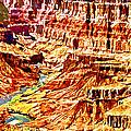 Grand Canyon Navajo Painting by Bob and Nadine Johnston