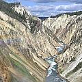 Grand Canyon Of The Yellowstone by Frank Burhenn