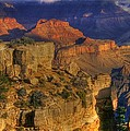 Grand Canyon - The Wonders Of Light And Shadow - 1a by Michael Mazaika