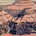 Grand Canyon Travel Poster 1938 by Mountain Dreams