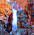 Grand Canyon Waterfall by Bob and Nadine Johnston