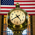 Grand Central Clock by Brian Jannsen