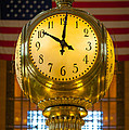Grand Central Clock by Inge Johnsson