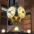 Grand Central Station Clock by Georgia Fowler