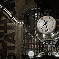 Grand Central Station New York City by Art Whitton