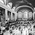 Grand Central Station -pano Bw by Hannes Cmarits