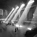 Grand Central Station Sunbeams by Underwood Archives