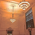 Grand Central Terminal Chandeliers by Christy Gendalia