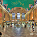 Grand Central Terminal IIi by Clarence Holmes