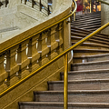 Grand Central Terminal Staircase by Susan Candelario