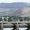 Grand Coulee Dam And Coulee City by E Faithe Lester