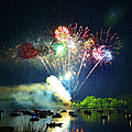 Grand Finale Over The Lake by Sandi OReilly