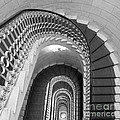 Grand Flora Stairwell Rome Italy by Mike Nellums