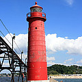 Grand Haven Rear Light by George Jones