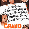 Grand Hotel, Us Poster, Top From Left by Everett