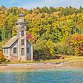 Grand Island East Channel Lighthouse by Jim Rettker
