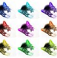 Grand Kitty Cuteness 3 Pop Art 9 by Andee Design