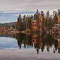 Grand Lake Reflection 2 by Lee Kirchhevel