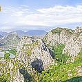 Grand Mountain And Farm  by Anek Suwannaphoom