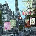 Grand Ole Paris-postcard From Paris by Leslye Miller
