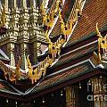 Grand Palace Bangkok Thailand 2 by Bob Christopher