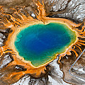 Grand Prismatic Spring II by Max Waugh
