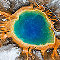Grand Prismatic Spring by Max Waugh
