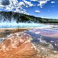 Grand Prismatic Spring - Yellowstone by Jon Berghoff
