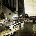 Grand Rapids Grand River by Evie Carrier