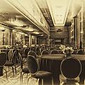 Grand Salon 05 Queen Mary Ocean Liner Heirloom by Thomas Woolworth