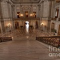 Grand Staircase S F City Hall by David Bearden